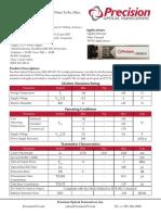 PRE SFP B35 20 Datasheet
