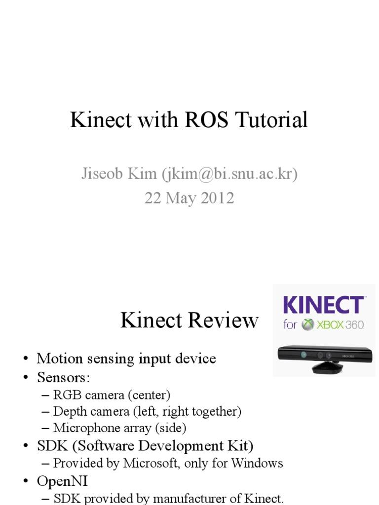 Kinect With ROS Tutorial | Digital & Social Media | Digital Technology