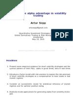 Short Volatility