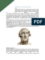 Autores de La Literatura Grecolatina