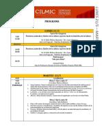 Programa CILMIC 18