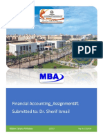 Financial Accounting_Maher Zakaria Khalil Al-Kotory_No. _Assignment#1