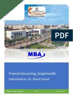 Financial Accounting_Maher Zakaria Khalil Al-Kotory_No. _Assignment#1