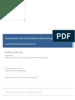 Instrumente des Social Media Monitoring