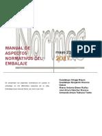 Manual de Aspectos Normativos Del Embalaje