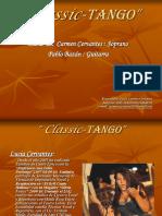 Curriculum y Propuesta de Classic-Tango