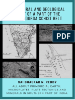 Chitradurga Schist Belt - Microplates and plate tectonics of southern India