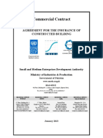 Insurance of Constructed Building