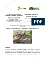 Etude Porciculture FIDA Madagascar