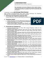 Peraturan Bidang Lingkungan Hidup - Oktober 2014