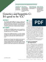 Trabajo 2. Genetics and Hepatitis C