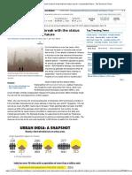 ET Article - Urban India - Sustainable Future