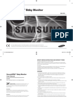 Samsung Sew 3035 Video Baby Monitor Manual