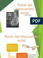 g.homans Teoría de Intercambio Social.
