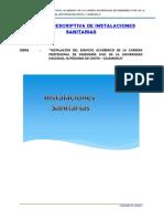 04 MEMORIA DESCRIPTIVA Y DE CALCULO SANITARIAS FIC.doc