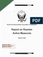 Hpsci - Declassified Committee Report Redacted Final Redacted