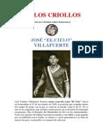 IDOLOS CRIOLLOS - Febrero - Jose Villafuerte 1