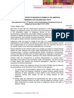 Indigenous children and youth - Declaration to UNPFII17