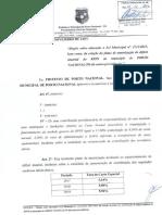 2.373 - Alteração Da LEI MUNICIPAL 2112 - Plano de Amortização