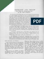 Grossraum and Realm. New Terms for Inter - Carl Schmitt