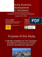 MBE Development Presentation to TCF