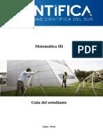 Guía de Matemática IIIsbsjjsjsnn