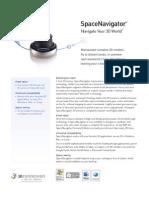 Space Navigator Datasheet