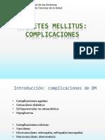 Clase 13 DM Complicaciones Agudas y Crónicas