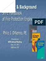 Sfpe Handbook Overview