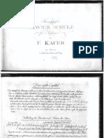 Kauer F. - Clavierschule (1787)