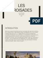 Les Croisades - PowerPoint
