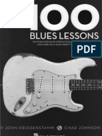 100 Blues Lessons Guitar - Chad Johnson