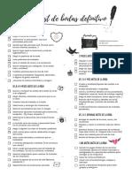 Checklist de Bodas Definitivo Impresion