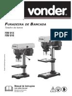 Manual-Vonder. FBV 013 & FBV 016