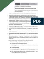 Acciones Para La Identificación de Sedes-brigadas Proteccion Escolar
