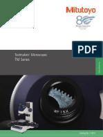 Mitutoyo - Mikroskopy Pomiarowe TM Seria - E14013 - 2015