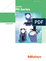 Mitutoyo - Projektory Pomiarowe PJ, PV i PH - E14005 - 2013 EN