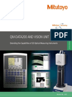 Mitutoyo - Procesor Danych QM-Data i Vision Unit - 2222 - 2016 EN
