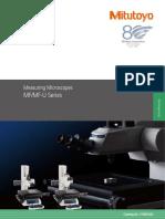 Mitutoyo - Mikroskopy Pomiarowe MF i MF-U - E14003(3) - 2015 EN