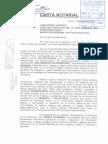 Carta Notarial a DHSF