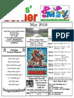 5. May 2018 Kids' Corner