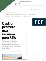 27-04-18 Castro promete más recursos para SEA