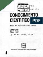 Díaz y Heler 1986 el conocimiento cientifico.pdf