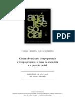 Cinema brasileiro, tempo passado e tempo presente