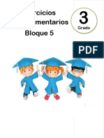3er Grado - Bloque 5 - Ejercicios Complementarios
