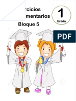 1er Grado - Bloque 5 - Ejercicios Complementarios