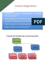 Campo de estudio de la Comunicación