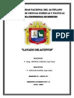Monografia Lavado de Activos