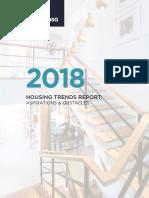 Zoocasa Housing Trends Report 2018