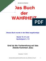 Das Buch Der Wahrheit Vol1